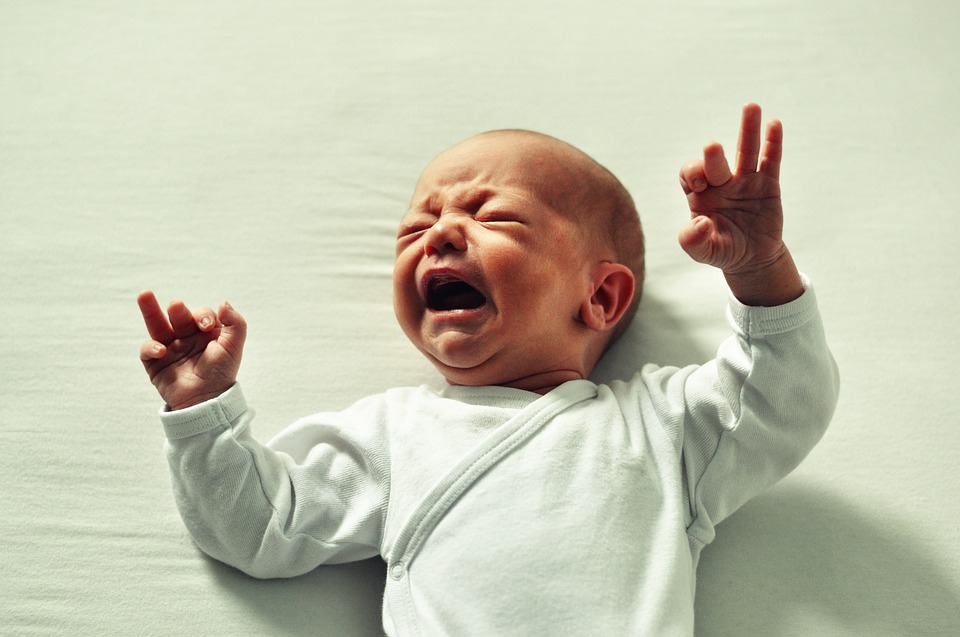 crying baby sick infant
