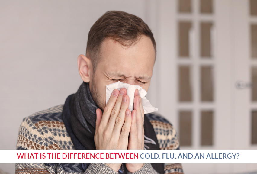 Difference Between Cold, Flu, and an Allergy